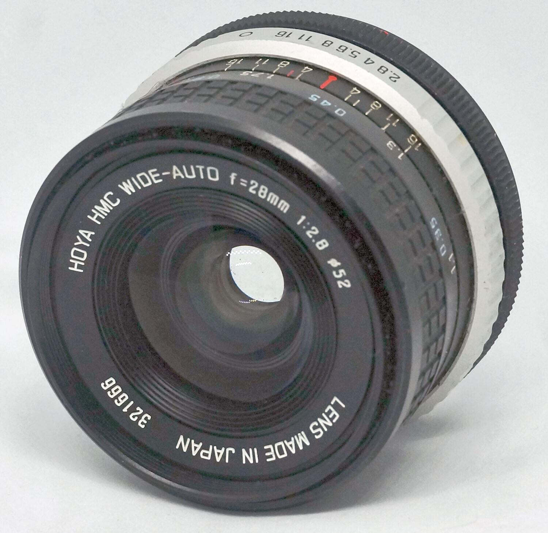 Wide LENS For SLR Camera With Canon FD Mount HOYA HMC 2.8-28 VG PHL0027  - $50.00