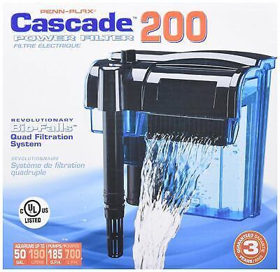 Pro 55 Gallon Fish Tank Filter Power Aquarium Pump Sterilizer Canister 200 Gph 200 Gallon Fish Tanks