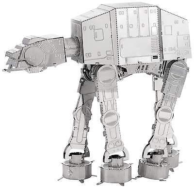 AT-AT Star Wars 3D-Metall-Bausatz Silver-Edition Metal Earth 1252