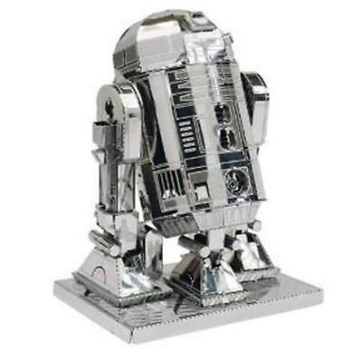 R2-D2  Star Wars 3D-Metall-Bausatz Silver-Edition Metal Earth 1250
