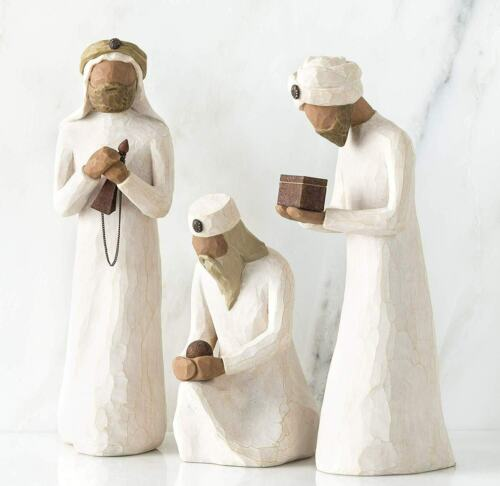Willow Tree_#26027 The Three Wisemen_ sculpted hand-painted nativity figures