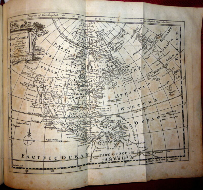 1771 Wm Guthrie, Geographical Historical Commercial Grammar. Gazetteer 21 MAPS
