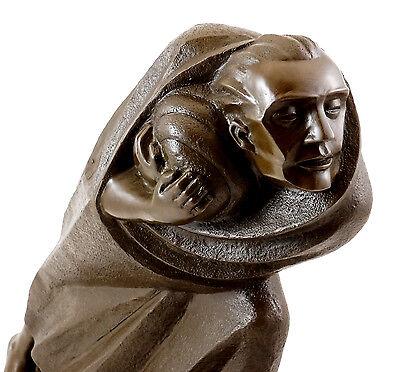 Bronze Bar (Bronzefigur - Der Flüchtling (1920) - signiert Ernst Barlach)