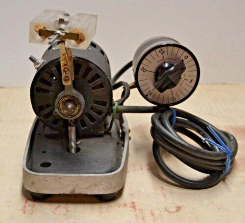 Vintage Crescent Dental Mfg. Co. Wig L Bug Amalgamator