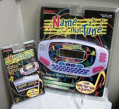 Tiger Electronics Name That Tune Handheld Game Plus Bonus Country Cartridge