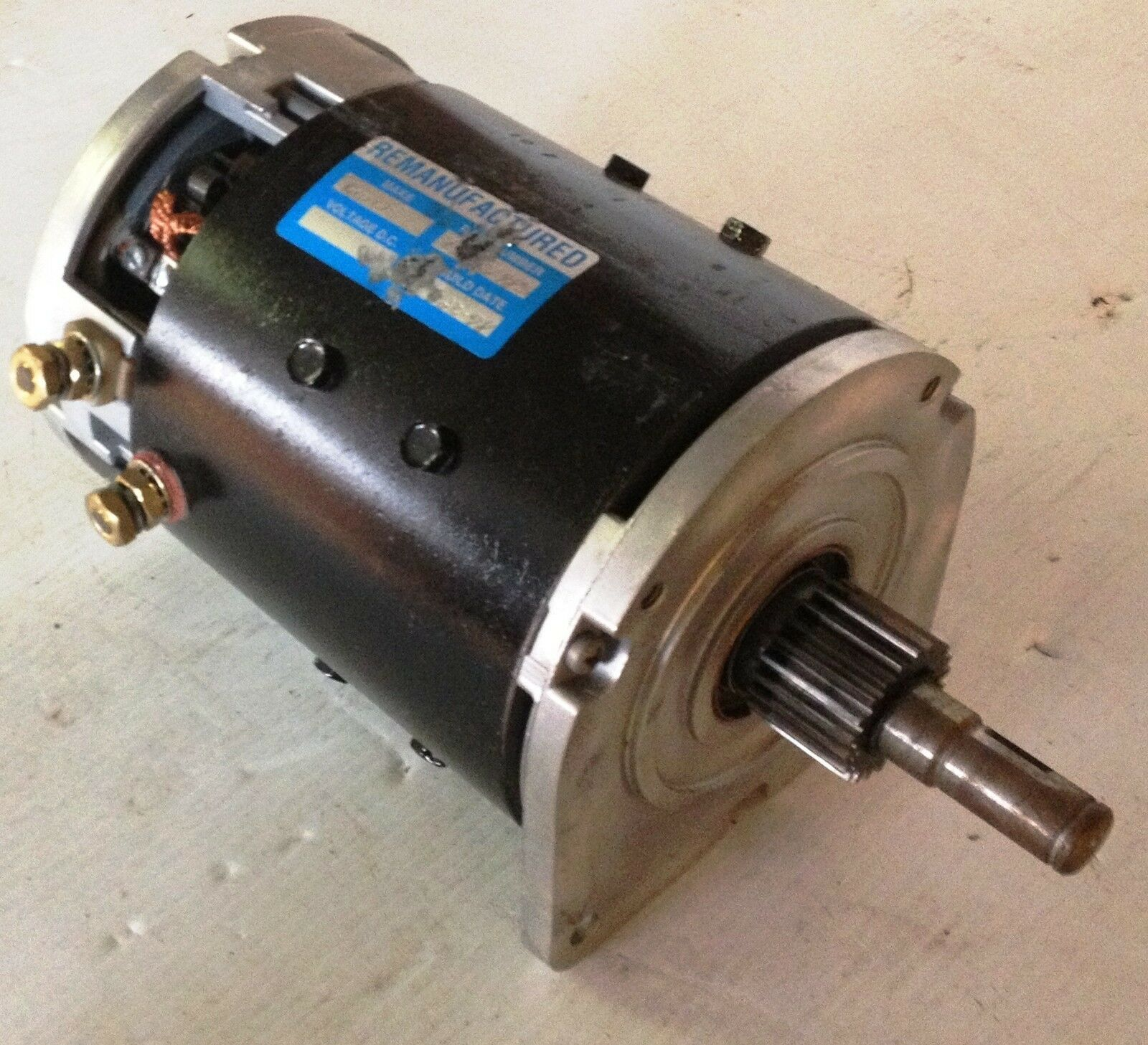 M302985 Crown Motors Rebuilt Drive Motor Forklift Parts 1 Picclick