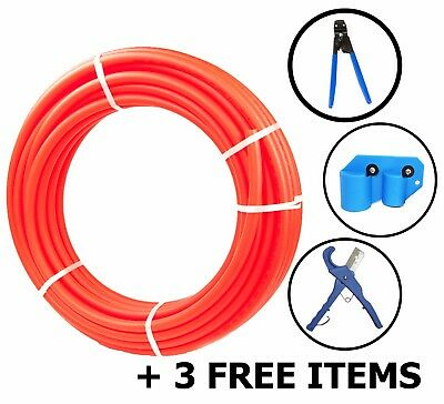 12 X 500ft Pex Tubing Oxygen Barrier Evoh Pex-b Red Radiant Floor Heat 3 Item