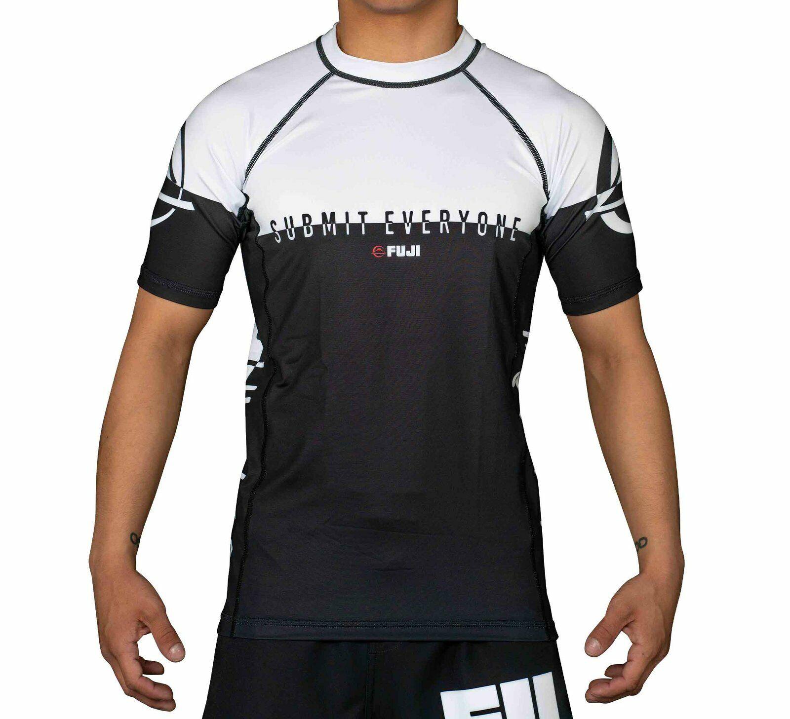 Fuji Sports Submit Everyone MMA BJJ Jiu Jitsu ShortSleeve SS
