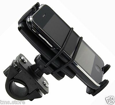 Secure Bike Motorcycle Handlebar Mount For Iphone 3 3G 4 4S   Other Smart Phones