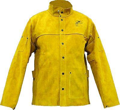 Gloves Castle Ws-501 Premium Leather Welding 30 Jacketlxl2xl Welder Safety