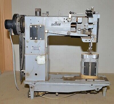 Adler No 268-263 Hni Two Needle Post Bed Sewing Machine Industrial Upholstery