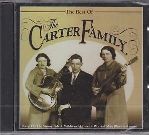 THE BEST OF THE CARTER FAMILY - CD - NEW -