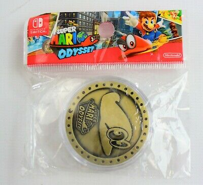 Super Mario Odyssey Collectible Cappy Coin NEW
