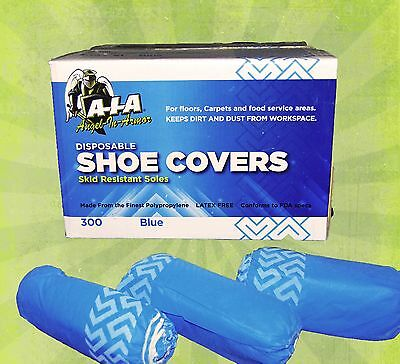 300 Disposable Shoe Covers Non-skid Medical Extra Large To Size 12 Value Price