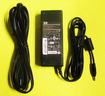 Genuine hp Compaq 90 Watt Power Supply Charger Box & Cord DV6000 DV8000 DV9000 +