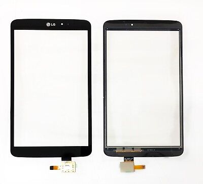 New LG G Pad 8.3 V500 V507 Tablet Touch Screen Digitizer Front Glass Black