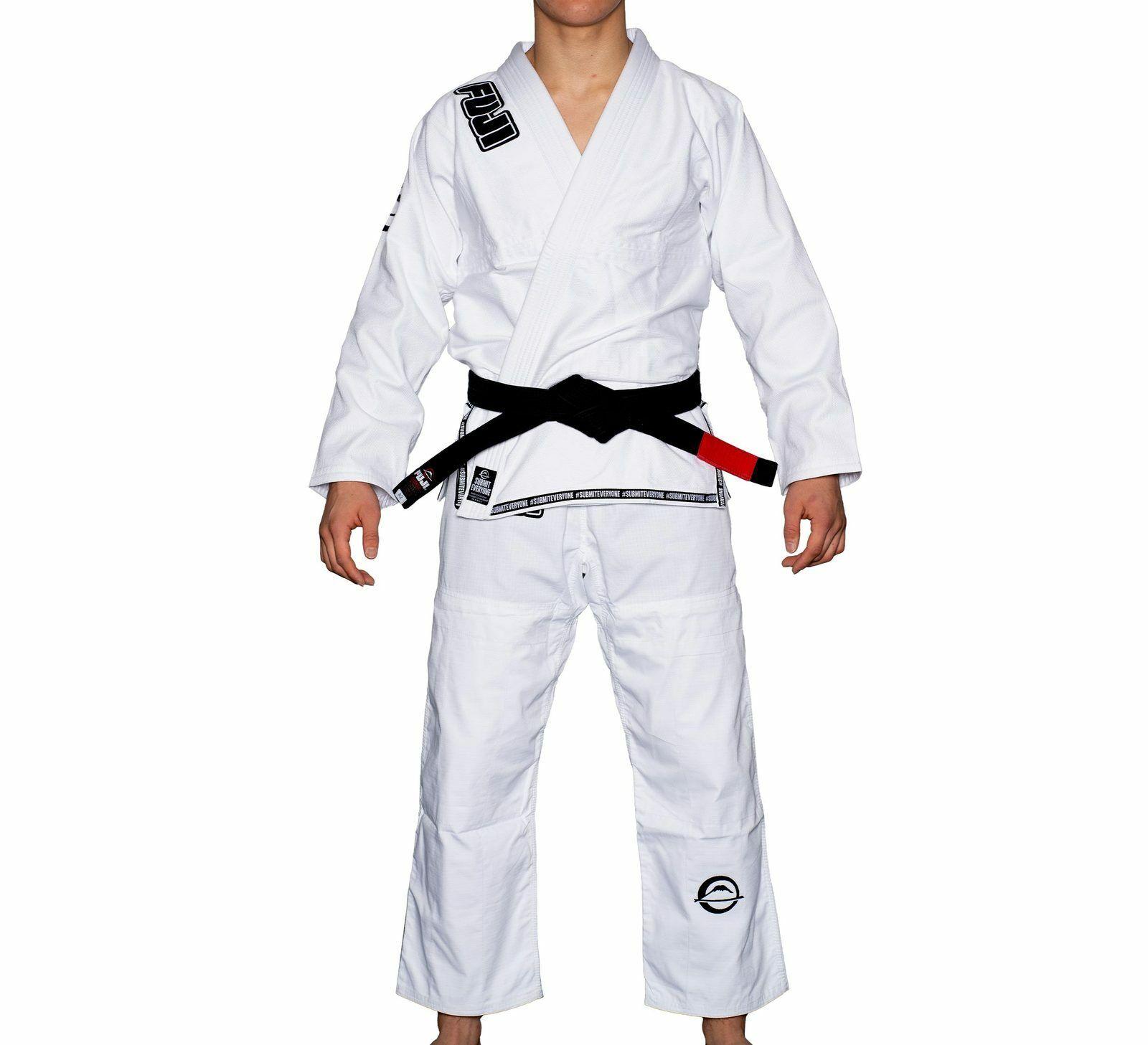 Fuji Submit Everyone Mens Brazilian Jiu-Jitsu BJJ Gi - White