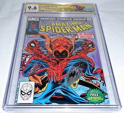 Amazing Spider-Man #238 CGC SS Signature Autograph STAN LEE Double Cover 9.6 POW