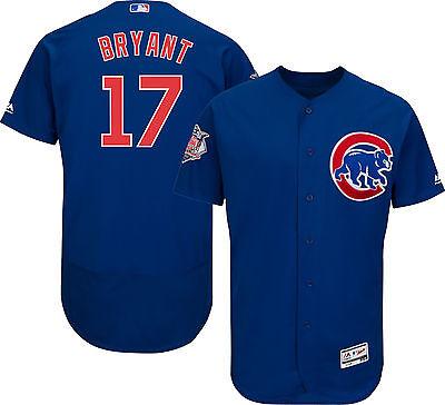 Kris Bryant Chicago Cubs Mlb Flex Base Jersey W  World Series Patch Xl
