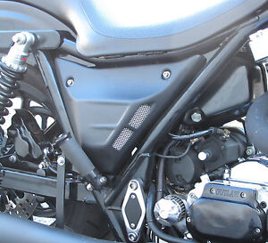 FXR SIDE COVERS OUTLAW CUSTOM 1982-1994 BLACK HARLEY