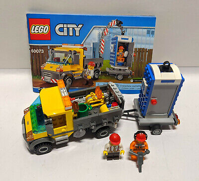 Lego City Service Truck Set 60073 Complete with Instructions