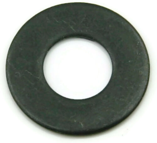 Flat Washers Black Oxide Stainless Steel Standard Washers - Sizes #2 - 3/4""