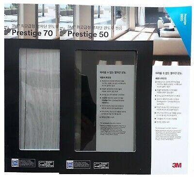 3M Sun Control Window Film Prestige PR-50, PR-70 samples