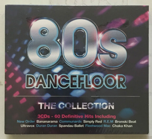 New & Sealed - 80's Dancefloor, The Collection 3x CD Album, 60 tracks - Various