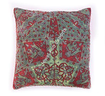Подушка Ethnic Indian Cotton Red Color