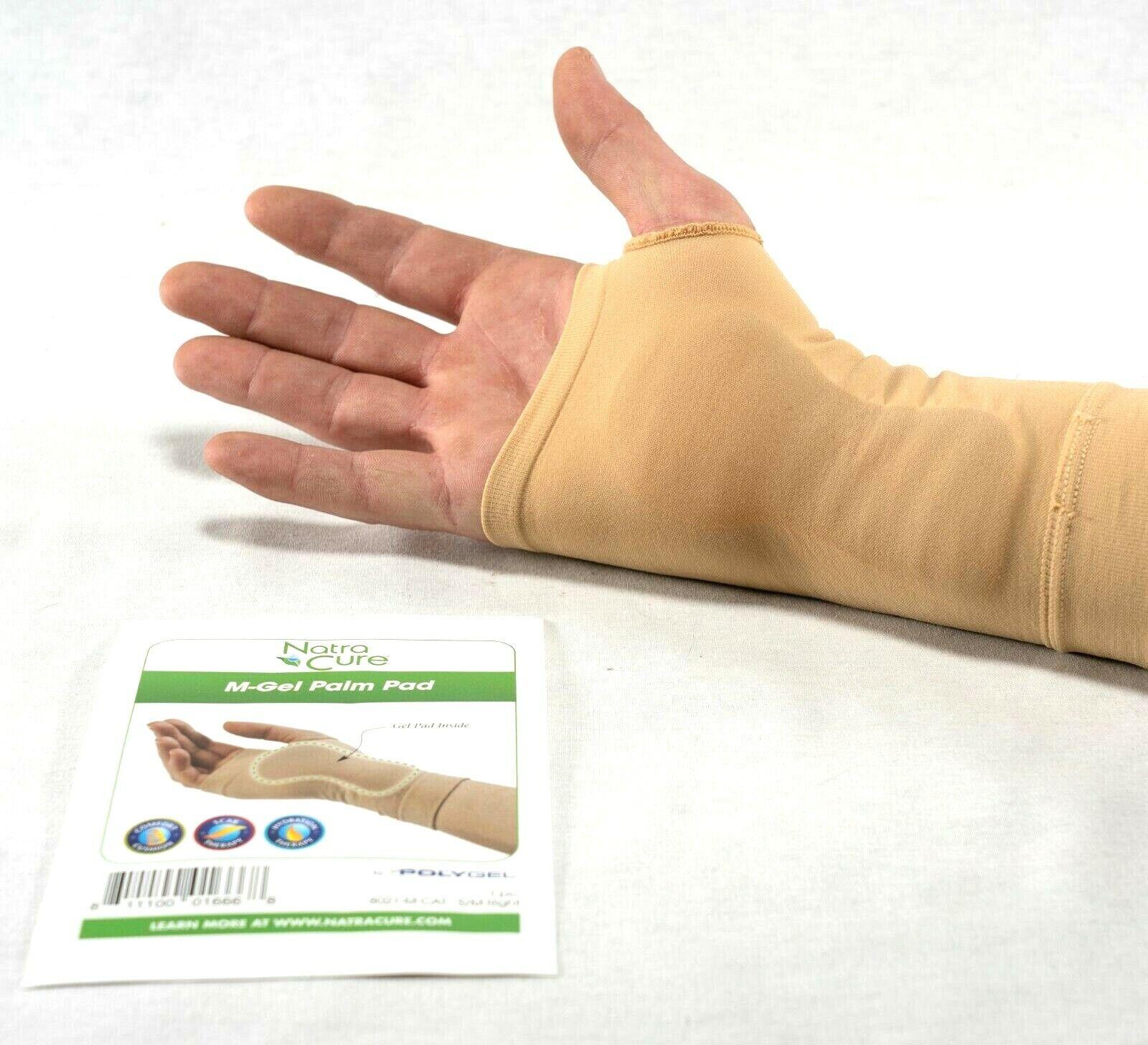 Carpal Gel Sleeve Wrist Braces Splints & Supports Hand Brace  SMALL/MEDIUM RIGHT Health & Beauty