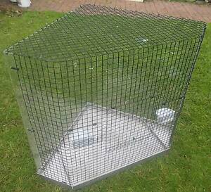 BIRD CAGE, LARGE Triangle style, fits corner TV stand, 90cm High Tea Tree Gully Tea Tree Gully Area Preview