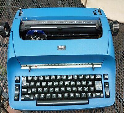 Local Pick Up Only Vintage Blue Ibm Selectric 1 Electric Typewriter