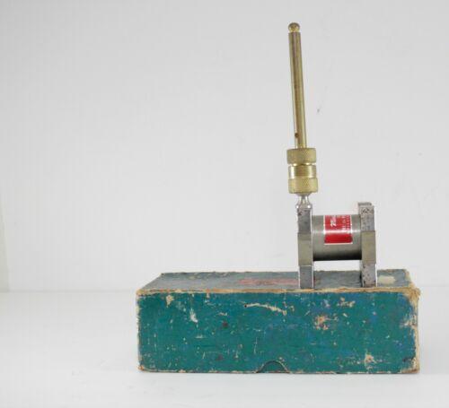 RARE Vintage The Du Mont Corp. MINUTE MAN Machinist Magnetic Base (U.S.A.) / BOX