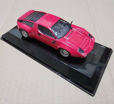 1/43 Red Maserati Bora Gruppo 4 -1973 Car Models Vehicles Collection Toys Gifts