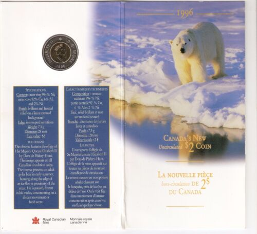 Canada New Uncirculated $2 Coin