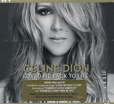 Celine Dion : Loved Me Back To Life - Deluxe Edition (CD + 4 Postcards)