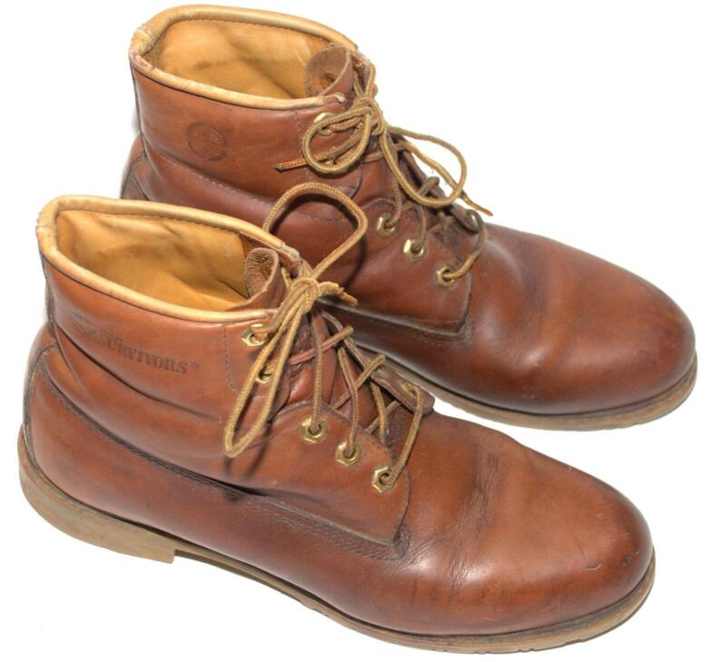 womens vintage leather boots ebay