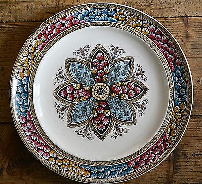 """Antique 1881 Copeland Spode Primrose Starflower Multicoloured Dinner Plate 10"""""""