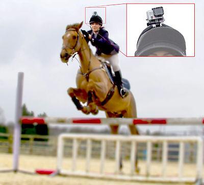 Horse Riding Helmet Strap Mount for GoPro HERO, HERO4, HERO5, HERO6