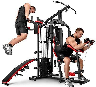 Kraftstation Fitnessstation Multigym Fitnesscenter 1054K 3 Stationen + 72 kg