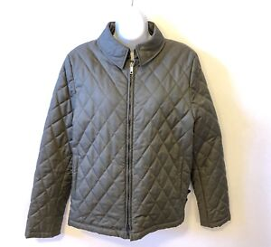 Authentic Burberry Lightweight Diamond Quilted Jacket size Large