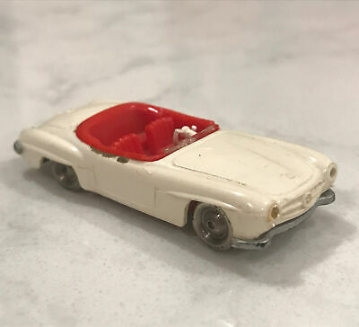 LEGO HO Scale Vintage Classic 1960's Mercedes 190SL EXTREMELY RARE! White w/ Red