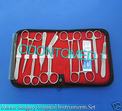 Minor Surgery Surgical Instruments Set Forceps Scissors