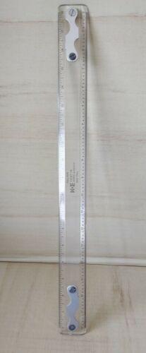 Vtg Luxylite Keuffel & Esser K&E 1376T-19 Drafting Machine Scale, 60 0718
