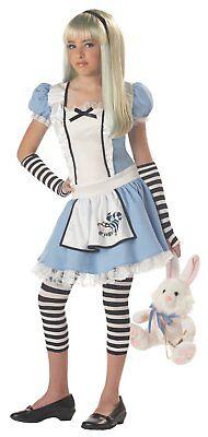 Costumes For Girl Tweens (California Costumes Girls Tween Alice Costume Blue/White Large)