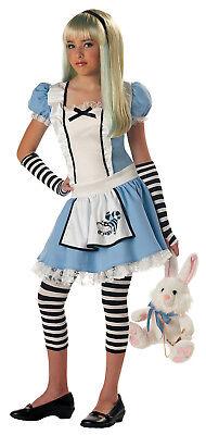 Alice in Wonderland Tween Fairytale Halloween Costume](Tween Alice In Wonderland Costume)