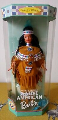 1997 Collector Edition ~ NATIVE AMERICAN ~ Dolls Of The World Barbie ~ NRFB