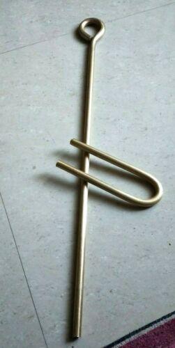 Brass Musical Instrument Dhantal