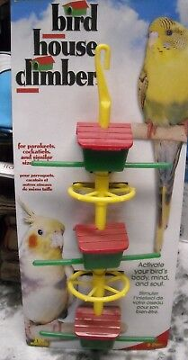 Parrot bird toy ladder parakeets toys cage cages cockatiel canaries finch new