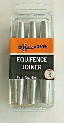 Equifence Joiner Electric Fence H101 Farm Animal Control Gallagher 3 Per Pack